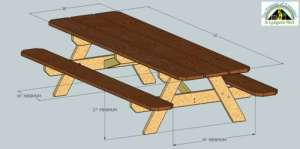 ADA Compliance Picnic Tables