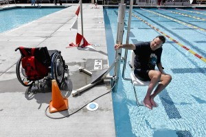 Pool lift ADA Compliance LA Time