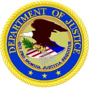 The Department of Justice Seal