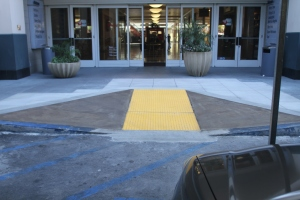 ADA Compliance - ADA Curb Ramp