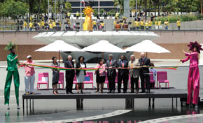 LA Grand Park official opening