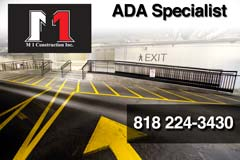 ADA Compliance news brought to you by M1 Construction