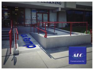 ALC Construction ADA Ramp & Handrail